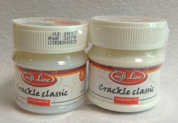 Dvikomponentis sendinimo lakas (CLASSIC) 2 x 50 ml