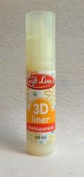 3 D kontūras - Skaidrus (20 ml)