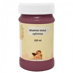 Matiniai akriliniai dažai Vyšnia (100 ml)