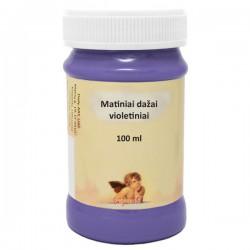 Matiniai akriliniai dažai Violetinė (100 ml)