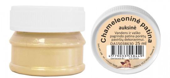 Patina chameleonas Auksinė (25 ml)