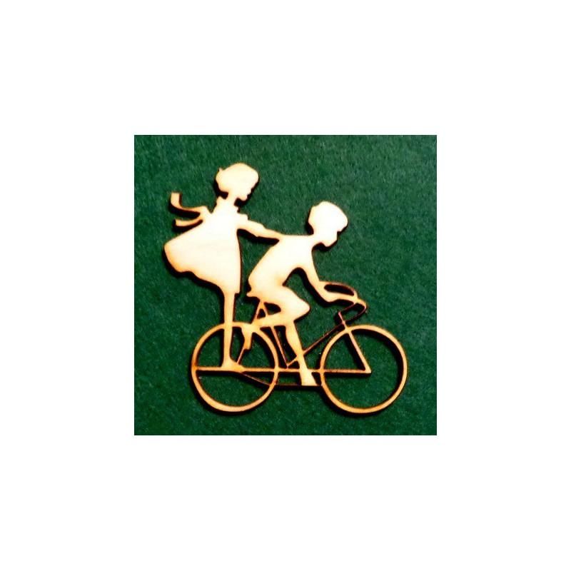 Porelė ant dviračio
