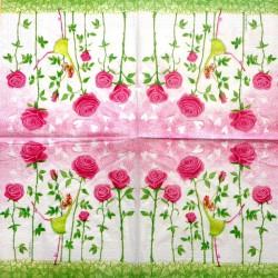 Servetėlė Fėjos rožės