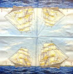 Servetėlė Laivas