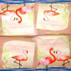 Servetėlė Flamingai