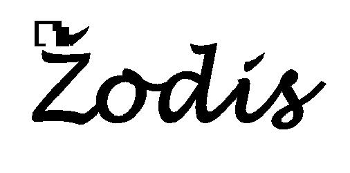 Žodis (apie 5 cm aukštis)