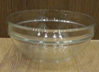 Glass bowl big