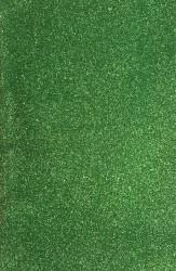 Blizgus popierius - kempinė (žalia spalva)