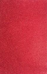 Blizgus popierius - kempinė (raudona)