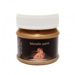 Metallic paint Royal gold (50 ml)