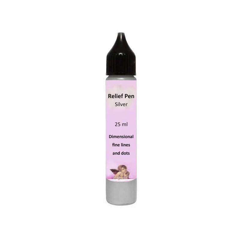 Reljefinis kontūras Sidabrinis (25 ml)
