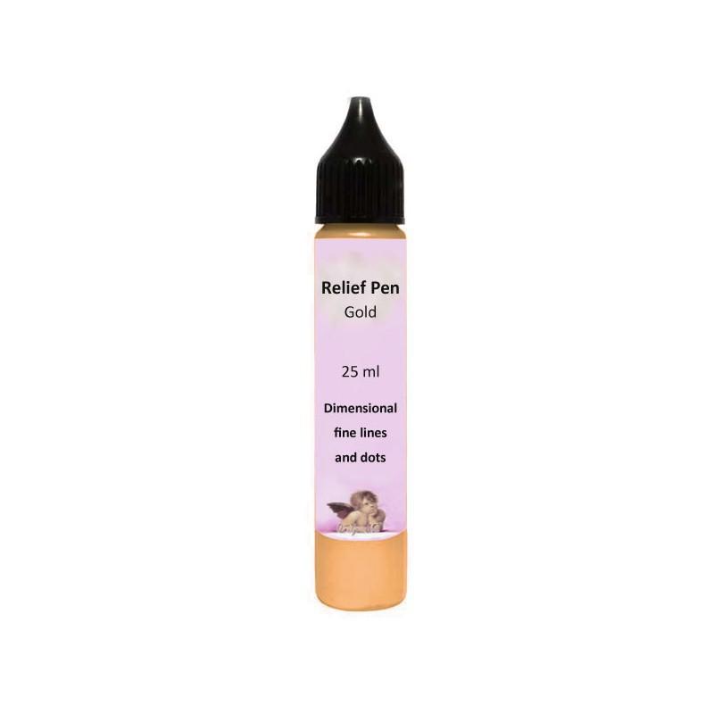 Reljefinis kontūras Auksinis (25 ml)