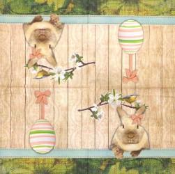 Napkin Easter