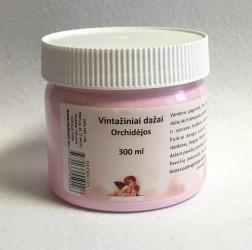Kreidiniai akriliniai vintažiniai dažai Orchidėjos (300 ml)