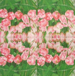 Napkin Tulips