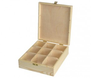 Tea box (9 dividers)