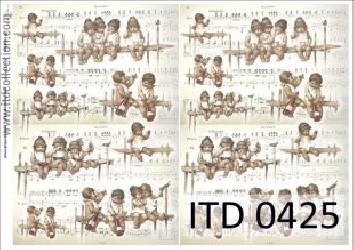 Decoupage paper (Kids)