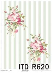 Rice paper (Roses)