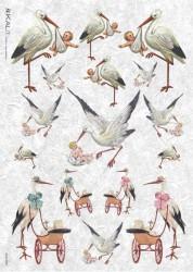 Rice paper (Stork)