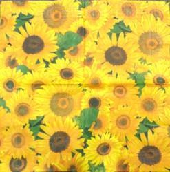 Napkin Sunflowers