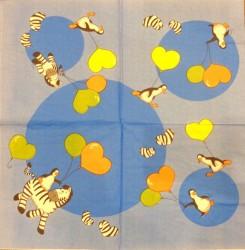 Servetėlė Zebras