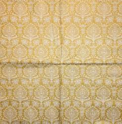 Servetėlė Ornamentai (aukso spalva)