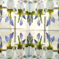 Servetėlė Gėlės kiaušinyje