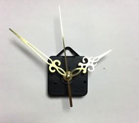 Laikrodžio mechanizmas (aukso spalvos rodyklės)