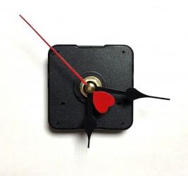 Laikrodžio mechanizmas (su raudona širdele)