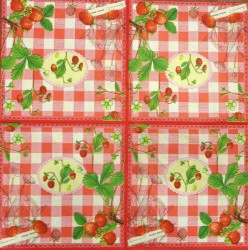 Napkin Strawberries