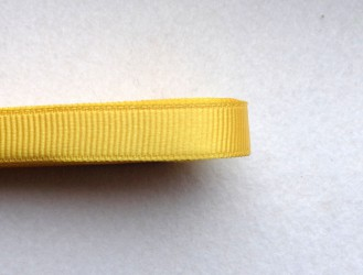 Satin ribbon Yellow (1 m)