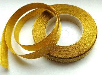 Satin ribbon Gold (1 m)