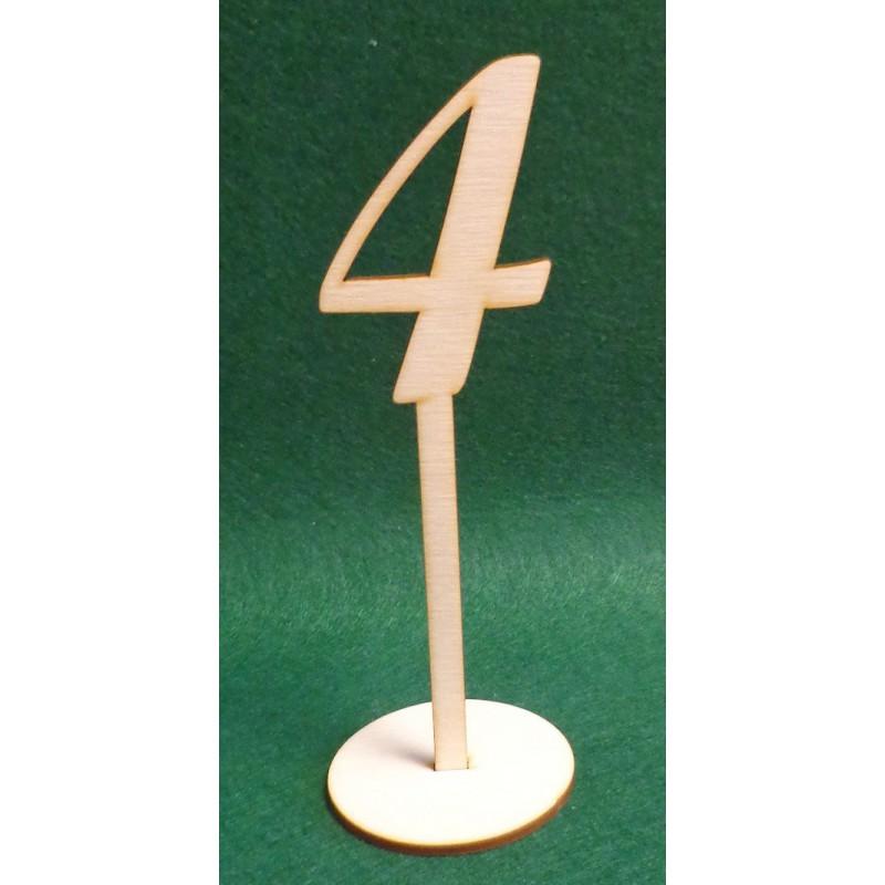 Pastatomas skaičius 4