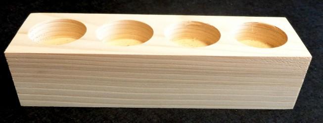 Žvakidė (4 tarpeliai)