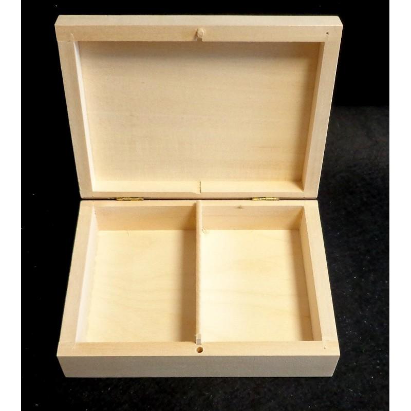 Dėžutė su 2 skyreliais