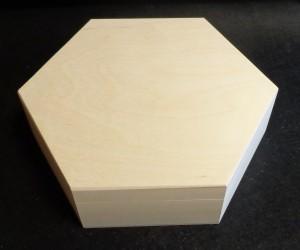 Šešiakampė dėžutė (didelė)