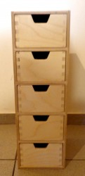 Commode (5 drawers)