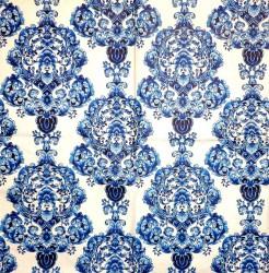 Servetėlė Ornamentai (mėlyni)