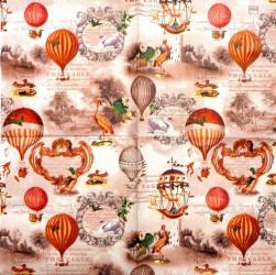 Servetėlė Oro balionai