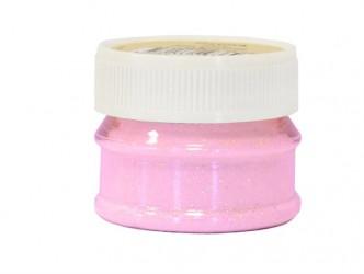 Blizgučiai – Glitter powder - Rožinė (25 ml)