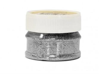 Blizgučiai – Glitter powder - Sidabrinė (25 ml)