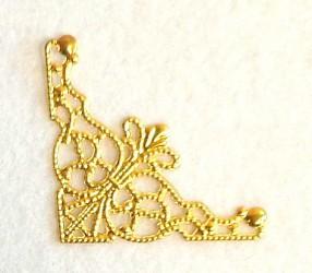 Kampas ažūrinis (aukso spalva)