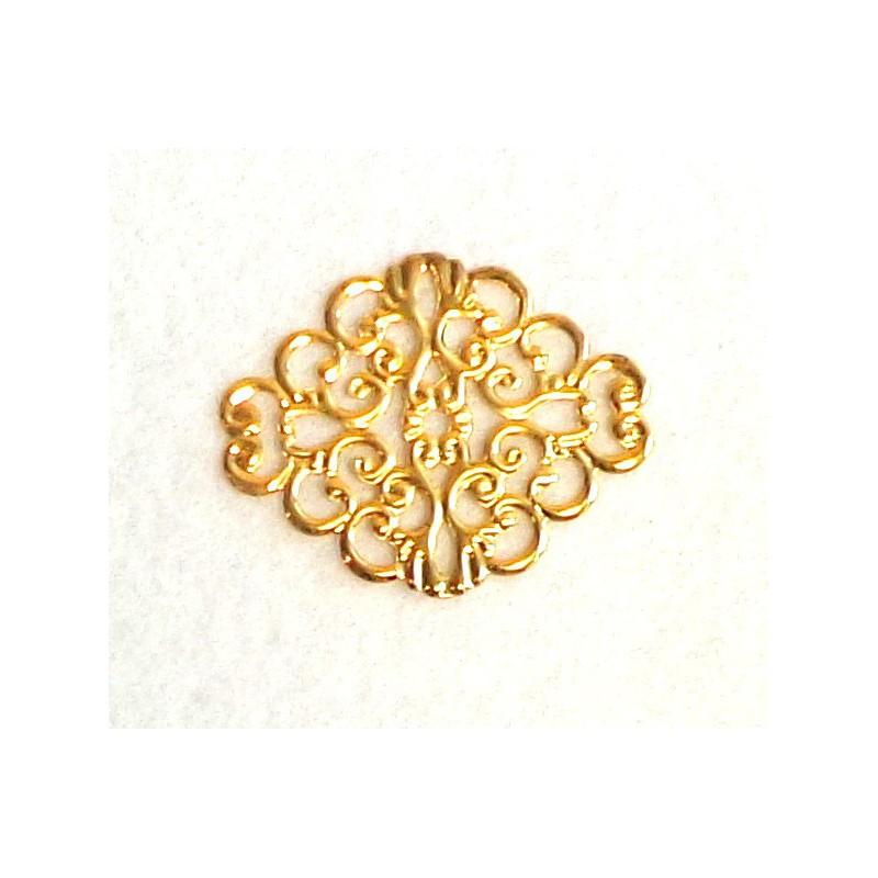 Ažūrinė plokštelė (aukso spalva)