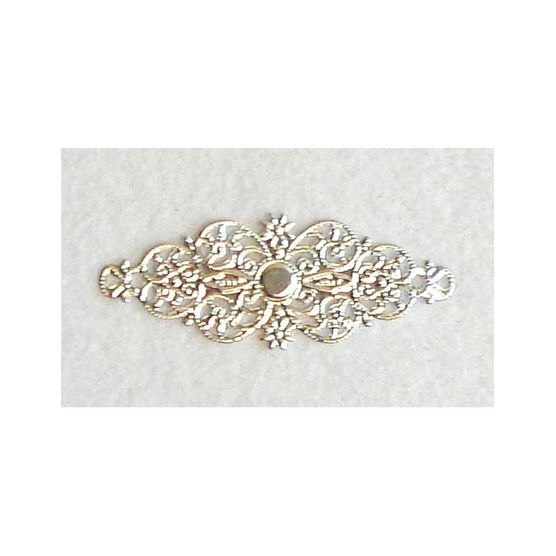 Ažūrinė plokštelė (sidabro spalva)