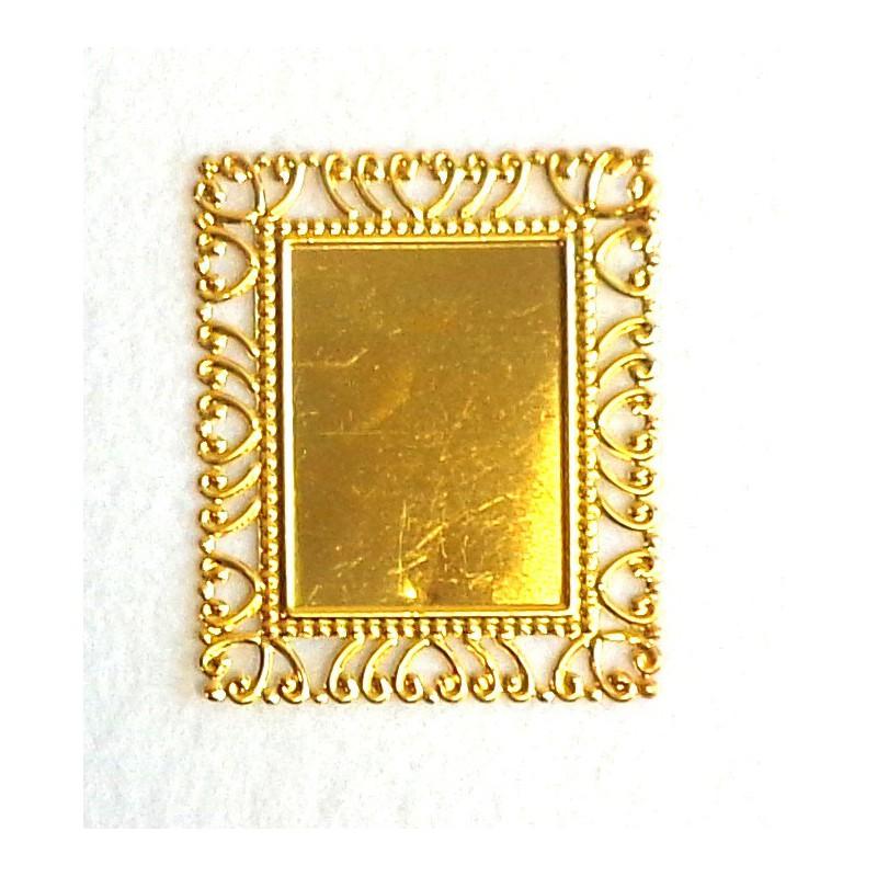 Ažūrinis rėmelis (aukso spalva)