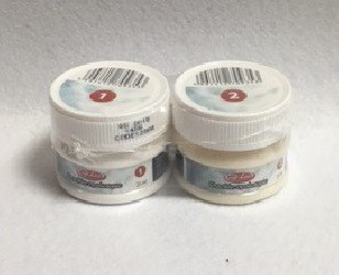 2 ply cracking medium for glass (2 x 25 ml)