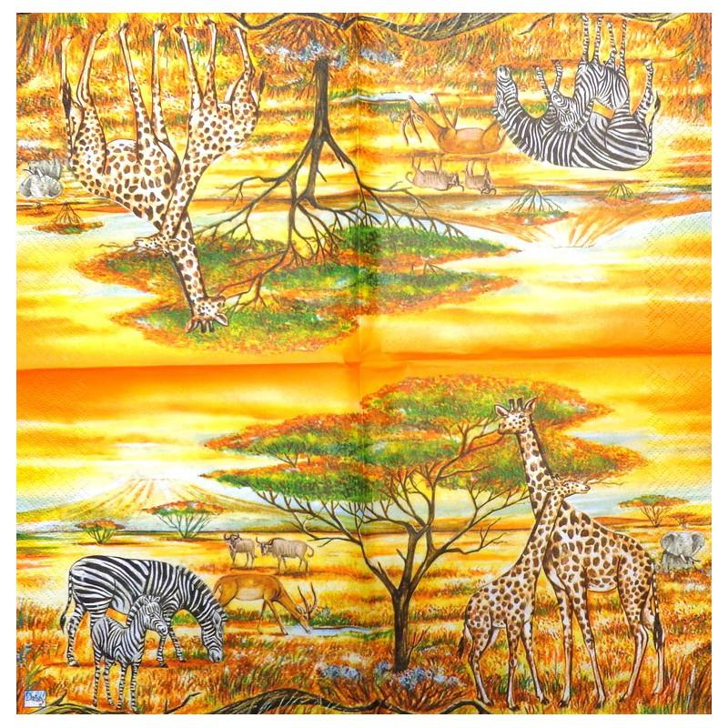 Servetėlė Afrika