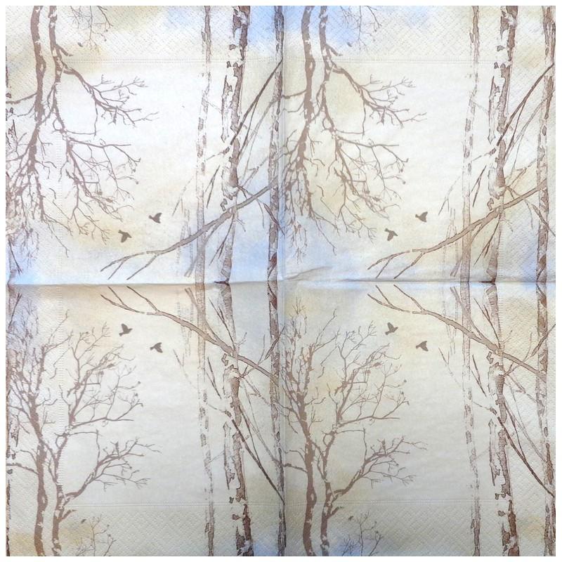 Servetėlė Medžiai