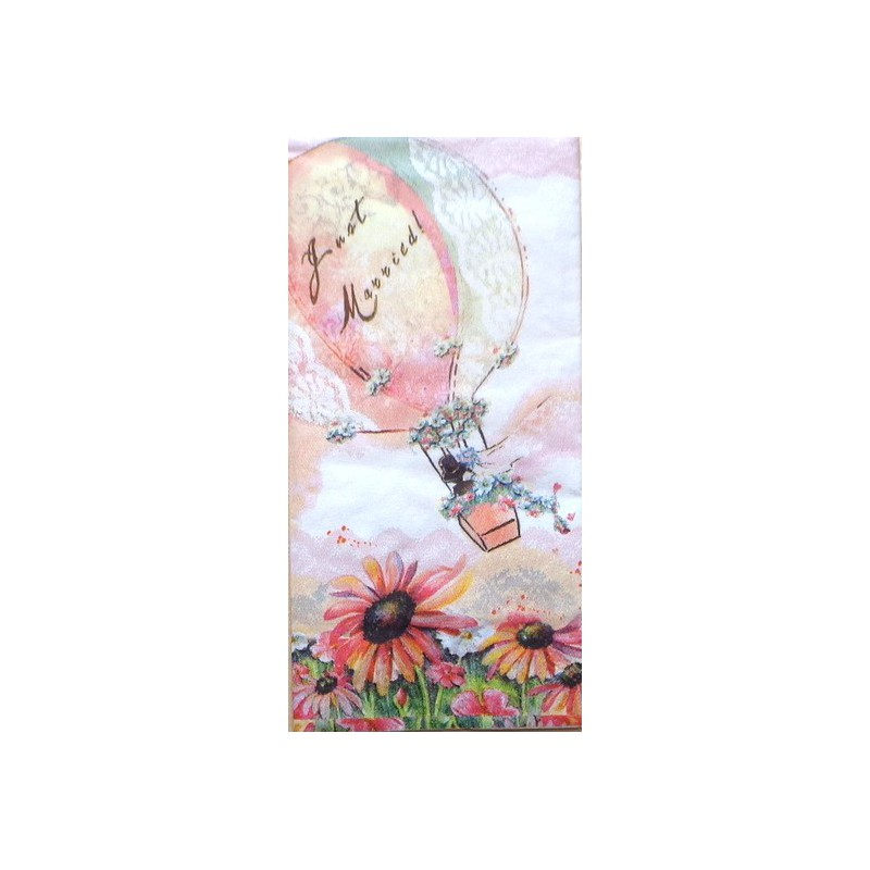 Popierinė nosinaitė Oro balionas