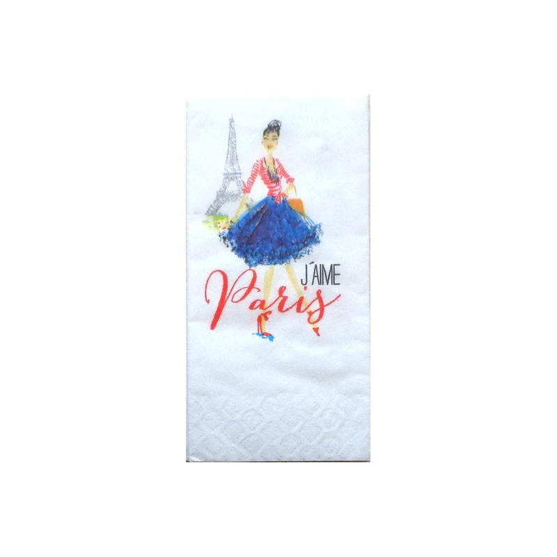 Popierinė nosinaitė Paryžius